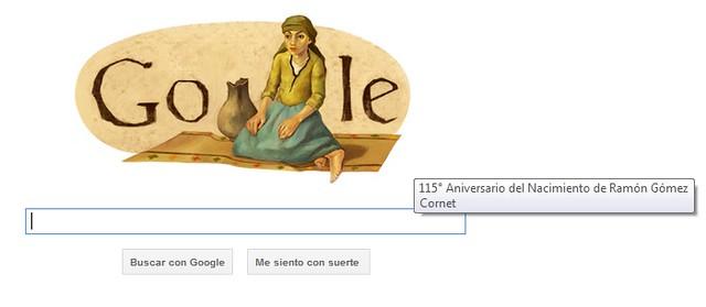 Google le dedica un doodle a Ramón Gómez Cornet