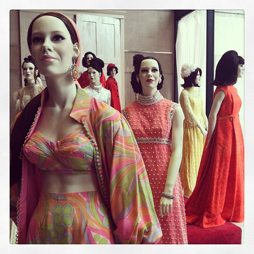 Exhibit at #Fashion Institute of Technology #newyork #nyc #dressed #March #clothes #mannequins