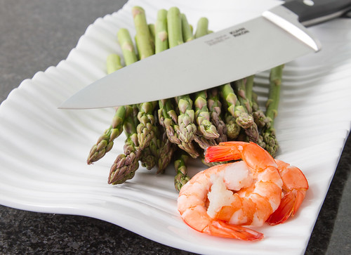 Asparagus and Prawns by Davide Restivo