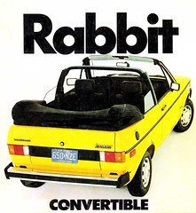 Volkswagen Rabbit Convertible 1982