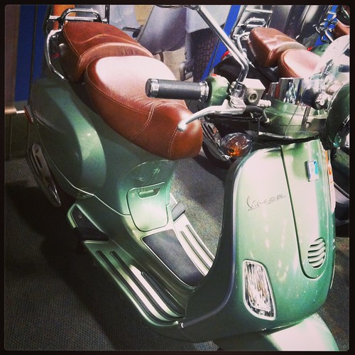 We bought a Vespa!