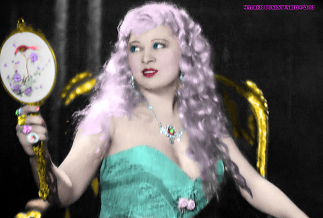Movie Star Mae West Always Liked what She Saw in the Mirror