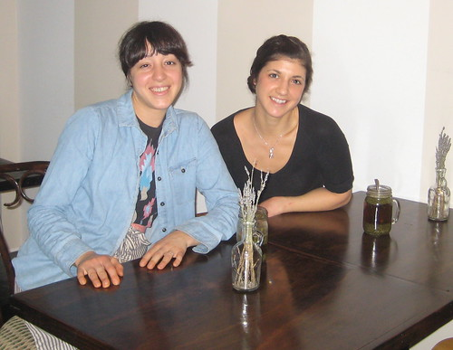 Alex Mazzucca and Cara Pescatore, co-owners of from seed to sprout
