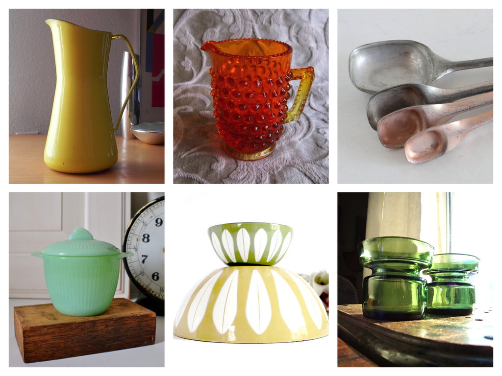 Vintage Kitchen goods