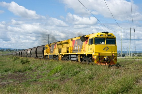5032, 5030 on the Way to Wambo, Hunter Valley Coal Roads, NSW, 9th March, 2013.