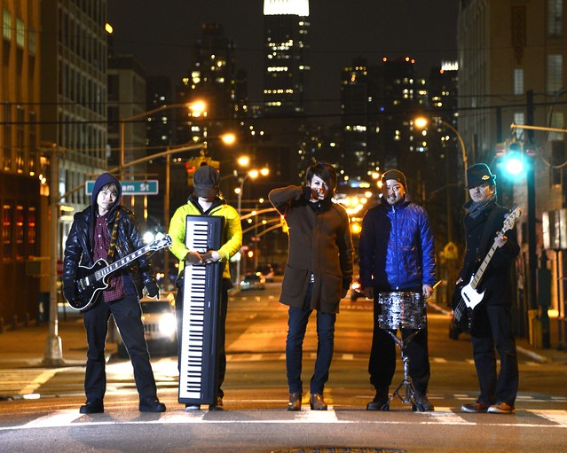 Japanese anime-rock band the Asterplace. Photo courtesy of Kota Nakagawa.