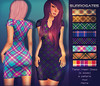 Surrogates - Tartan Dress (with Hud)