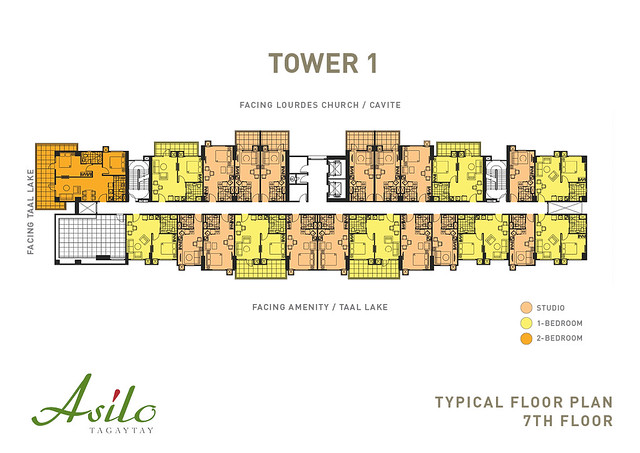 ASILO_TYPICAL FLOOR PLAN_Tower 1_7TH Floor