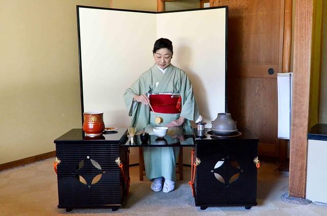 Tea Ceremony at Hotel Okura