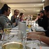 Dinner at the Braye Beach hotel which kindly took the 13 of us in on short notice. #latergram #devfort by Stephanie Hobson