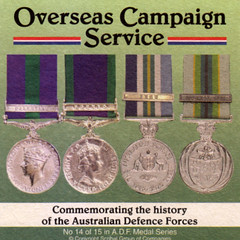 Beer Coaster No. 14 of 15 in Aust Defence Forces Medal Series