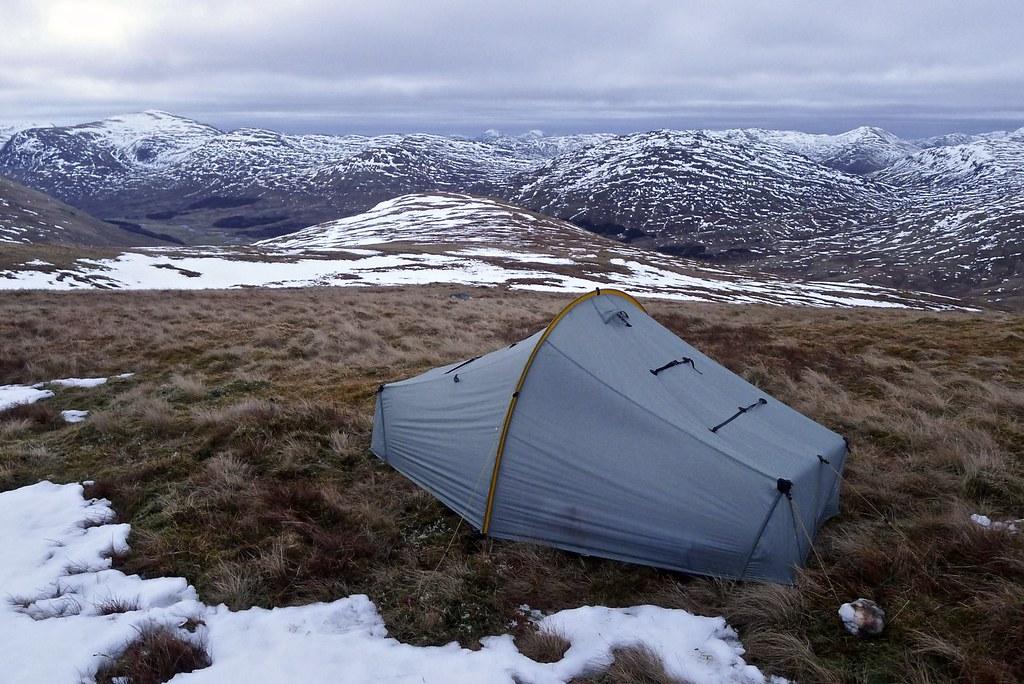 Camp above Glen Lyon