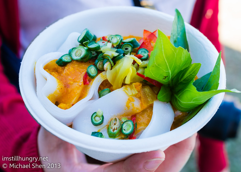 Taste of Sydney - Longrain's Tumeric Chicken w/Rice Noodles, Wild Ginger & Thai Basil