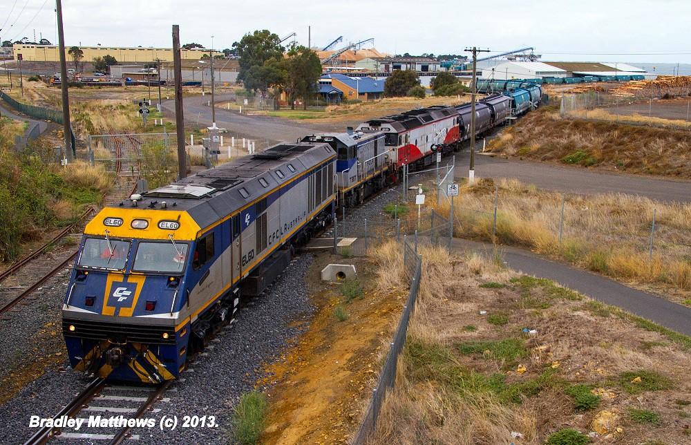 El Zorro EL60-T387-G535 SG grain at Nth Geelong Grain Loop (17/3/2013) by Bradley Matthews