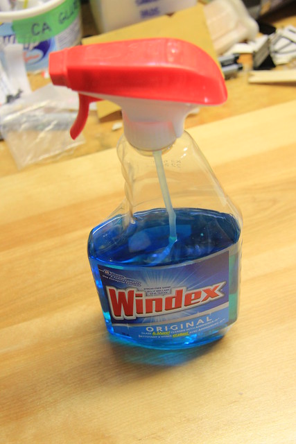Windex with Ammonia
