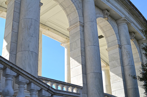 N peristyle - Memorial Amphitheater - Arlington National Cemetery - 2013-03-15