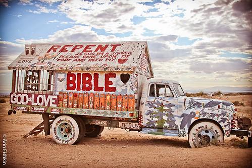 bible truck house
