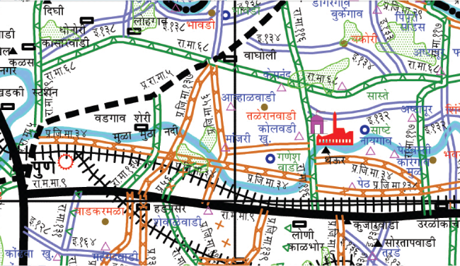 Pune District Road Development Plan 2001 - 2021 on (www.pune.gov.in Pune Collectorate)