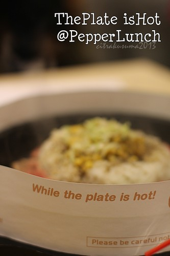 Caution! The Plate is hot!