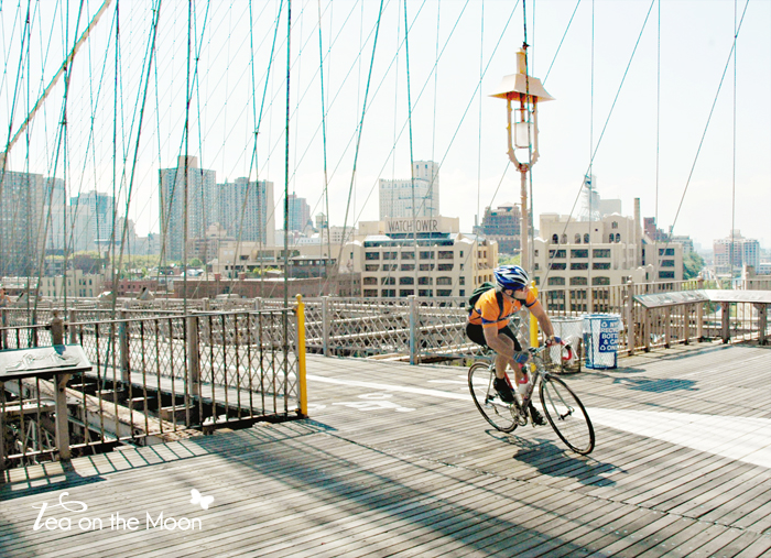 brooklyn bridge New York bycicle 0