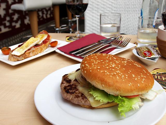 Burger in Spain