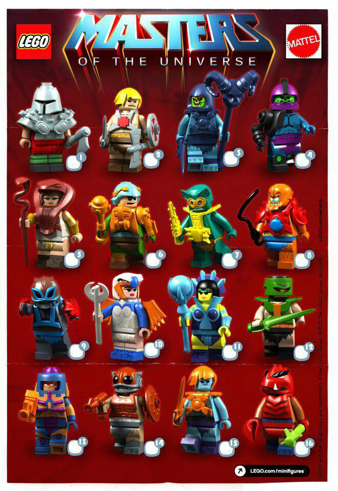Custom Masters of the Universe Lego mini-figs by Gregos Thomas