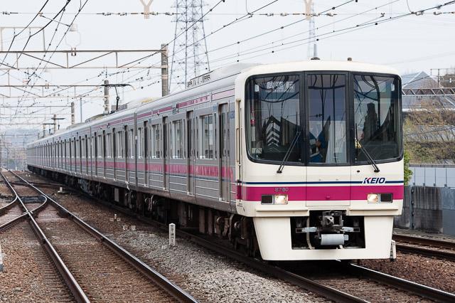 京王電鉄8000系8730F 新型VVVF搭載車