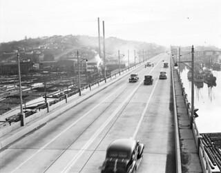 Ballard Bridge, 1941
