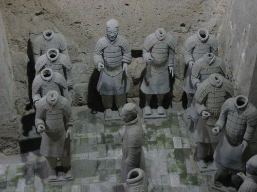IMG_5050 - Terracotta Warriors in Qin Shi Huang's Tomb, Xi'an, China, 2007