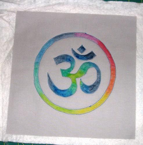 Namaste Mini Quilt
