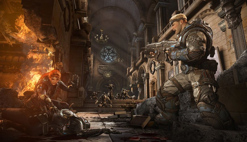 Gears Of War Started As A Battlefield Kind-of Shooter 1