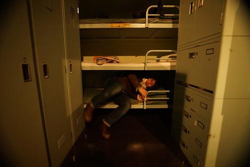 潜水艦ベッド