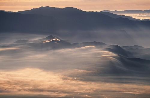 Dawn Mist from Yatsugatake