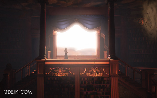 BioShock Infinite - Elizabeth in the Library