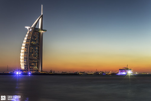 United Arab Emirates - Burj Al Arab Blue Hour