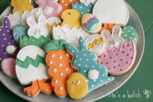 089w2013 Easter Cookie assortment