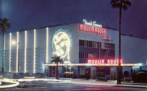 Frank Sennes - Moulin Rouge, Hollywood, California