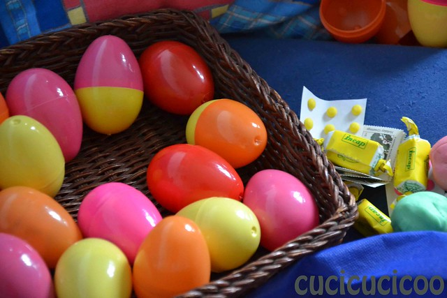 loot (handmade and non) from easter egg hunt