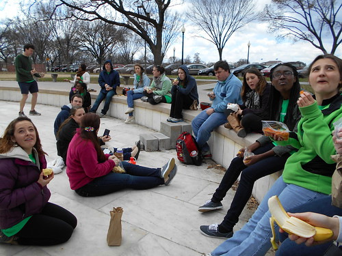 lunch at the boy scout memorial