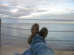 Relaxing in Grand Marais