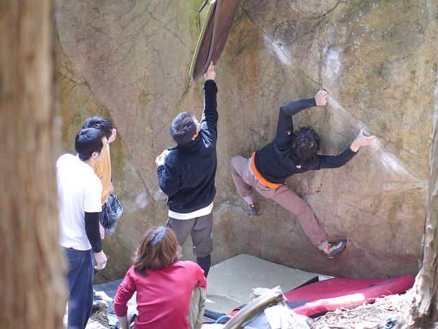 笠置山ボルダー(2013.3 (103)