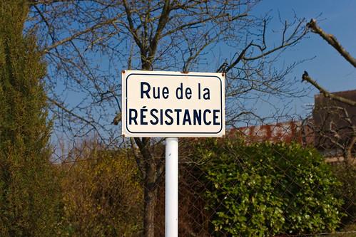 Rue de la Résistance