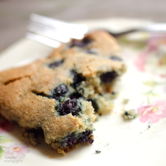 Gluten-Free Blueberry Scone Recipe