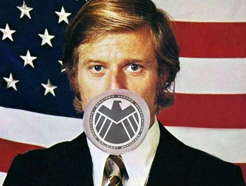 Robert Redford - Head of SHIELD