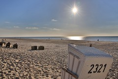 Sylt: Sun, Sand and Sea ... on an April Evening