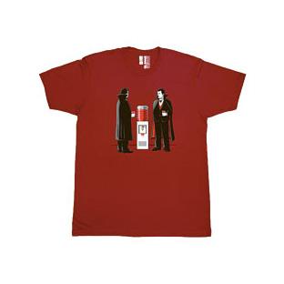 GLENNZ t-shirt: 'Office Chat'