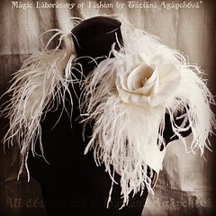 #wedding #etsy #ostrich #feather #bolero #shrug #jacket #bride #dupioni #handmade #luxury #engagment