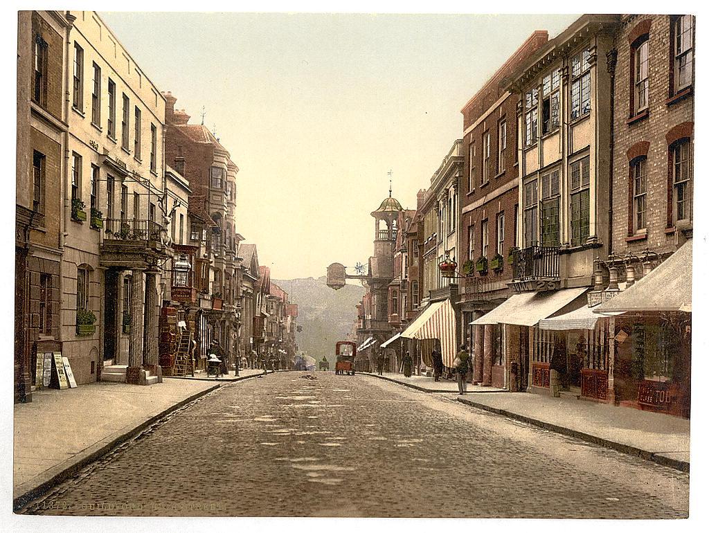 [High Street, Guildford, England]  (LOC)