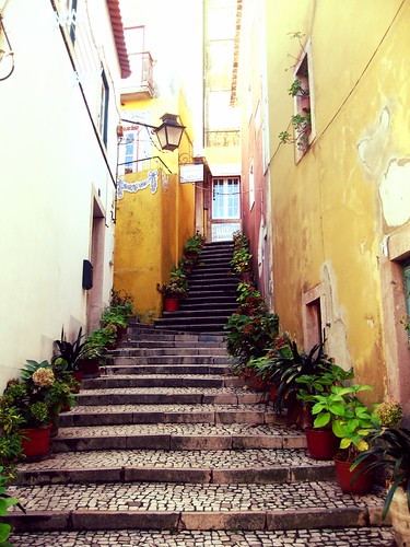 Sintra, stairs