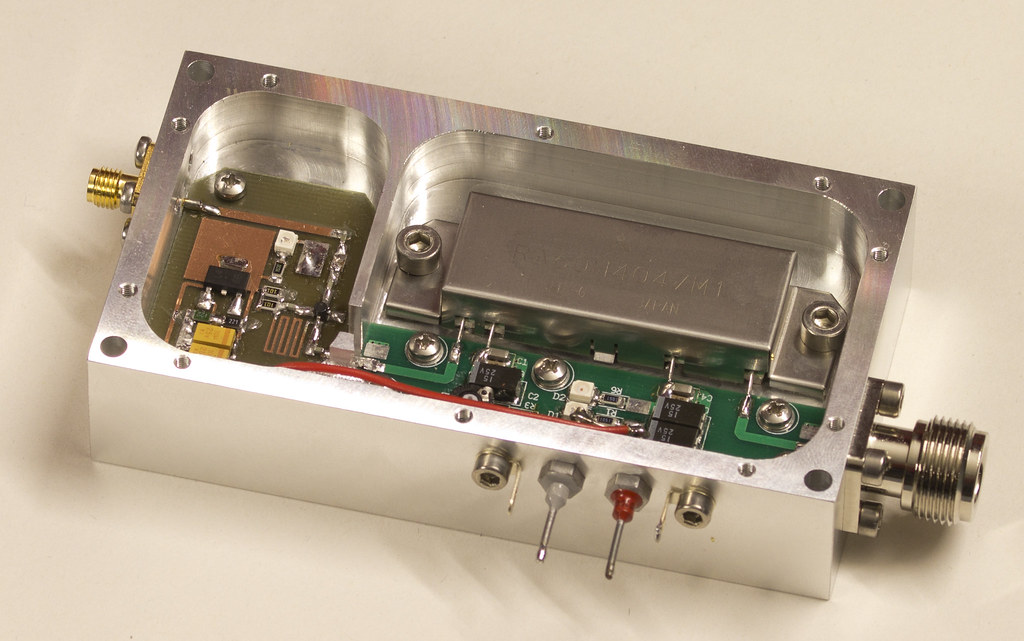 70cm datv amplifier | bert modderman | Flickr